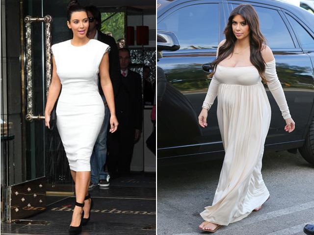 Kim Kardashian strepitosa dopo la gravidanza. Grazie chirurgia estetica!
