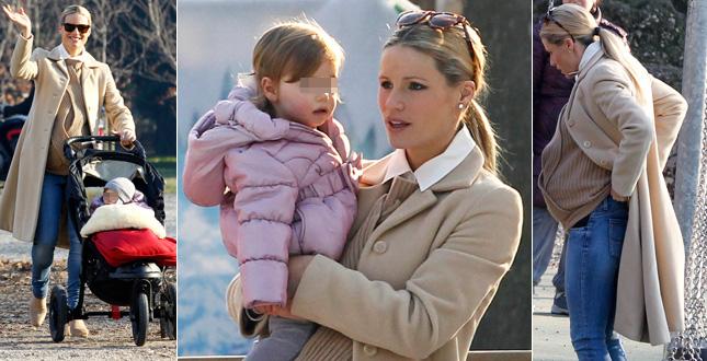 Michelle Hunziker: ultime settimane di gravidanza tra social e passeggiate