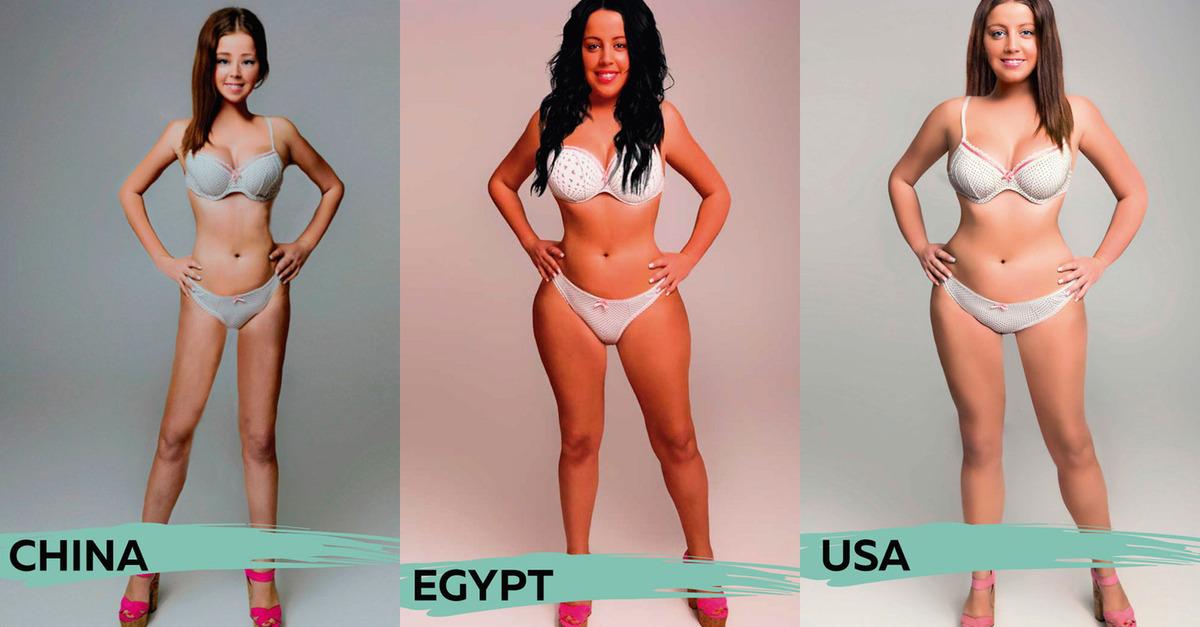 Corpo femminile: ecco come cambia l'idea di perfezione nel mondo
