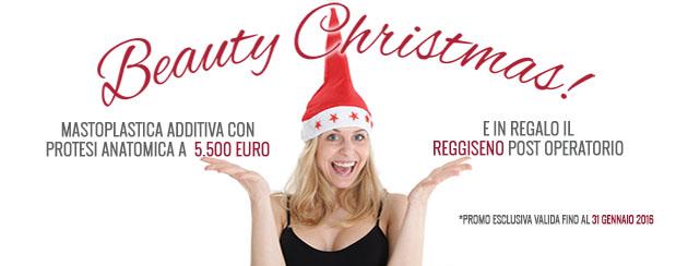 Beauty Christmas: la nuova promozione dedicata al seno.